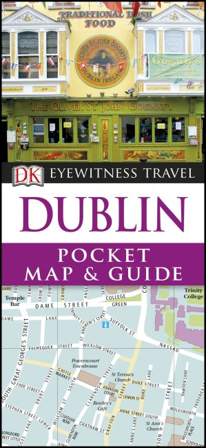 Paperback cover of Dublin Pocket Map and Guide