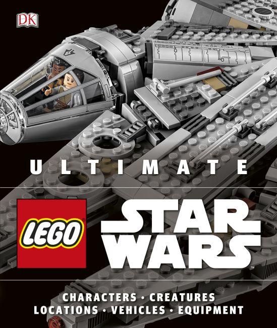 Hardback cover of Ultimate LEGO Star Wars