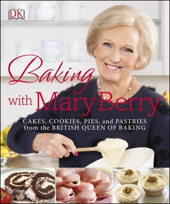 Paperback cover of Baking with Mary Berry