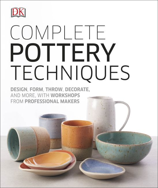 Hardback cover of Complete Pottery Techniques