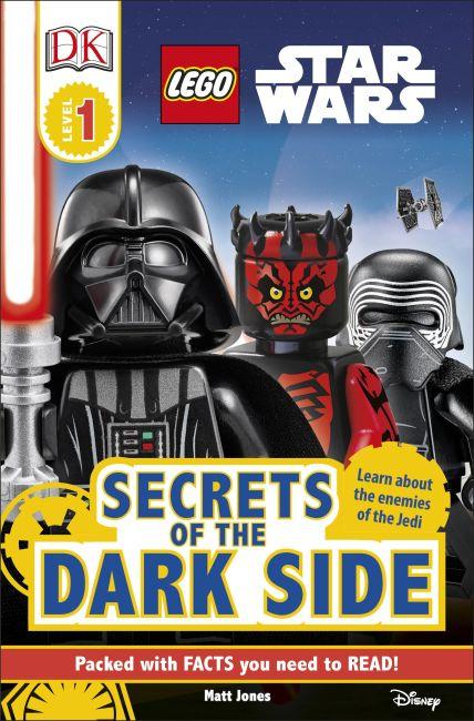 Paperback cover of DK Readers L1 LEGO® Star Wars Secrets of the Dark Side