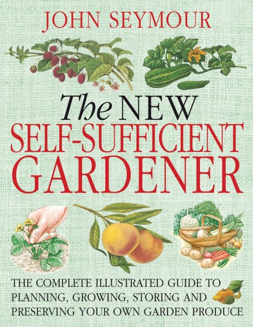Paperback cover of The New Self-Sufficient Gardnr