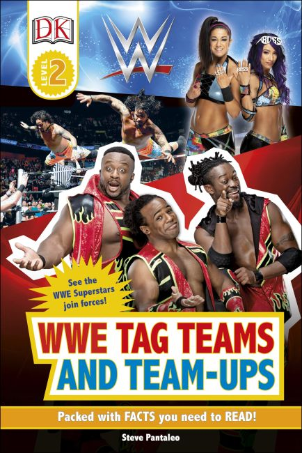 Hardback cover of WWE Tag-Teams and Team-Ups