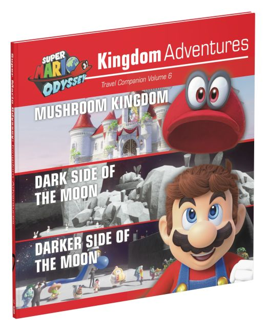 Hardback cover of Super Mario Odyssey Kingdom Adventures Vol 6