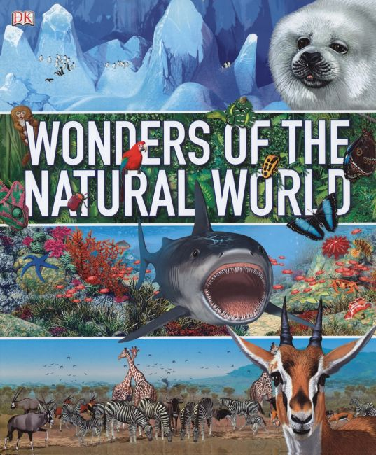 eBook cover of Wonders of the Natural World