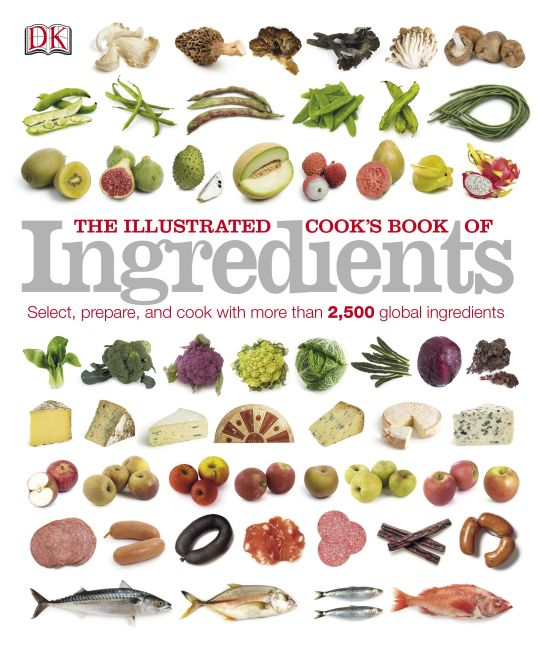 Paperback cover of The Illustrated Cook's Book of Ingredients