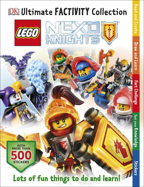 Paperback cover of LEGO® NEXO KNIGHTS Ultimate Factivity Collection