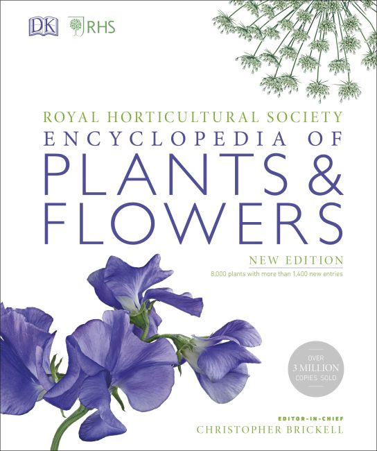 Hardback cover of RHS Encyclopedia Of Plants and Flowers