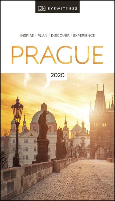 Paperback cover of DK Eyewitness Travel Guide Prague