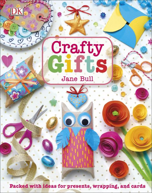 Hardback cover of Crafty Gifts