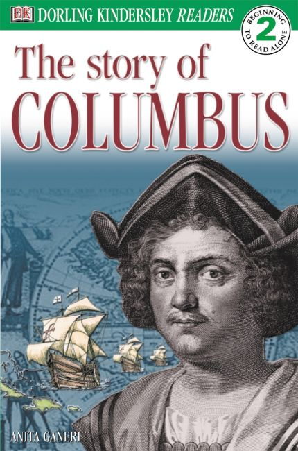 Paperback cover of DK Readers L2: Story of Columbus