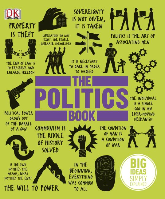 Hardback cover of The Politics Book