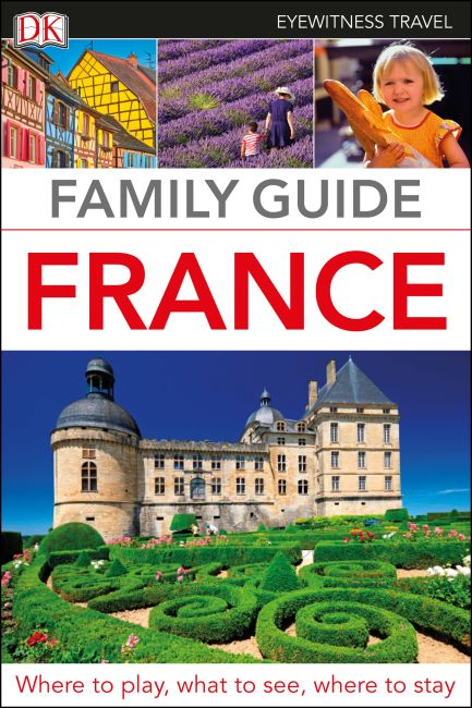 Flexibound cover of DK Eyewitness Family Guide France