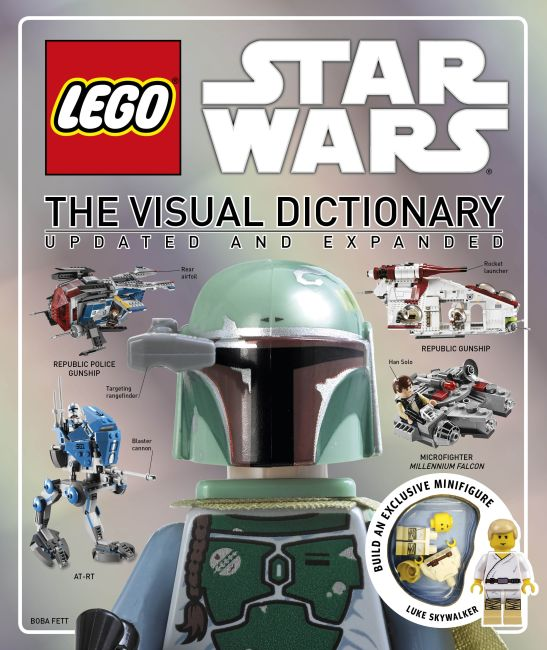 Hardback cover of LEGO® Star Wars: The Visual Dictionary