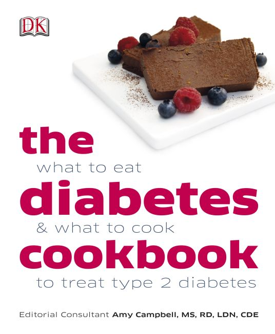 eBook cover of The Diabetes Cookbook