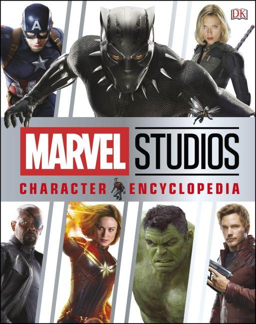 Hardback cover of Marvel Studios Character Encyclopedia