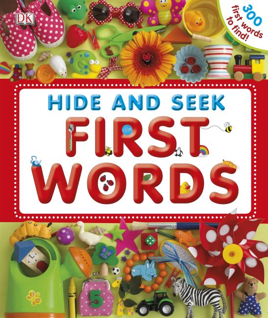 eBook cover of Hide and Seek First Words