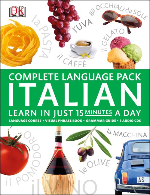 Mixed Media cover of Complete Language Pack Italian