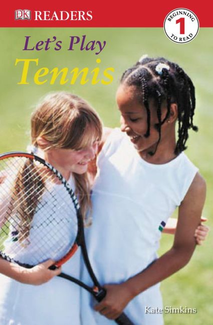 eBook cover of DK Readers: Let's Play Tennis