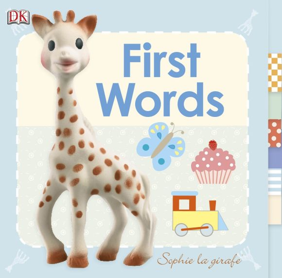 Board book cover of Baby Sophie la girafe: First Words