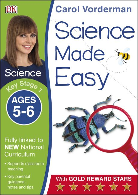 Paperback cover of Science Made Easy Ages 5–6 Key Stage 1