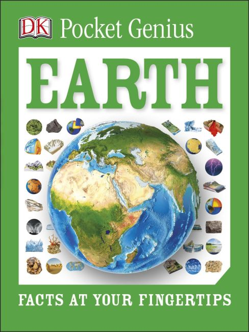 Paperback cover of Pocket Genius: Earth