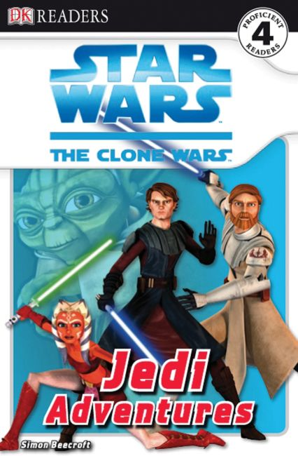 Paperback cover of DK Readers L4: Star Wars: The Clone Wars: Jedi Adventures
