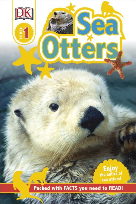 Hardback cover of DK Readers L1: Sea Otters