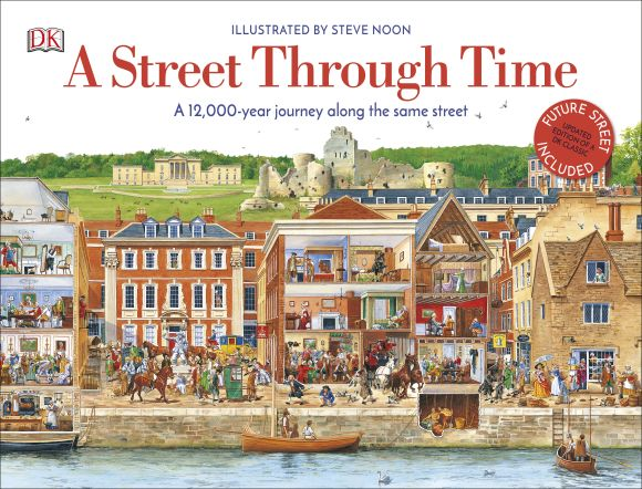 Hardback cover of A Street Through Time