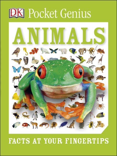 Paperback cover of Pocket Genius: Animals
