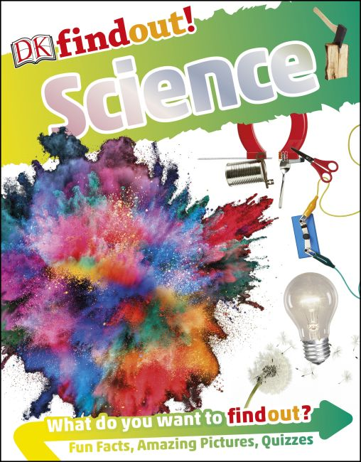Paperback cover of DKfindout! Science