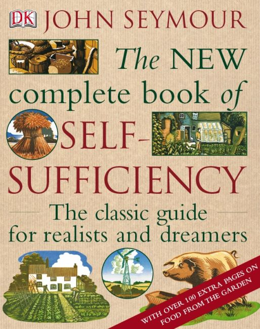 Hardback cover of The New Complete Book of Self-Sufficiency