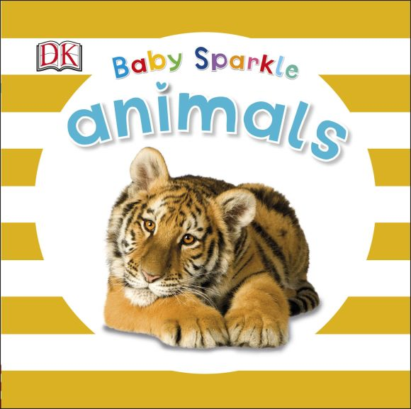 Board book cover of Baby Sparkle Animals
