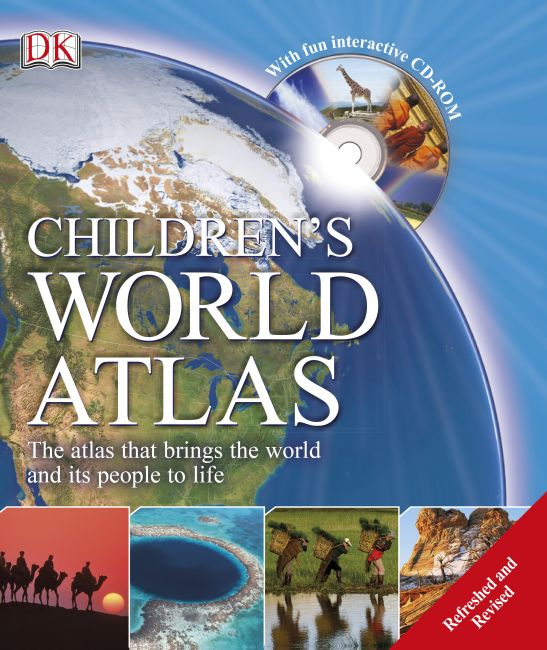 Hardback cover of Children's World Atlas