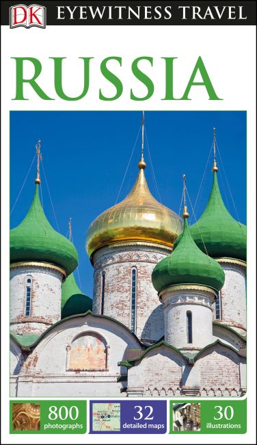 Flexibound cover of DK Eyewitness Russia Travel Guide