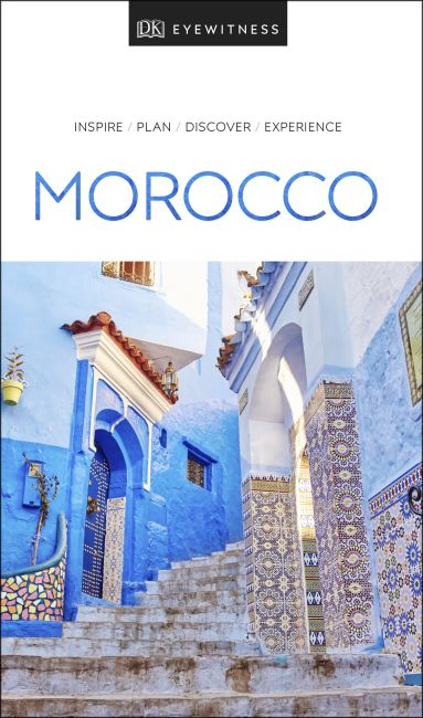 Paperback cover of DK Eyewitness Travel Guide Morocco