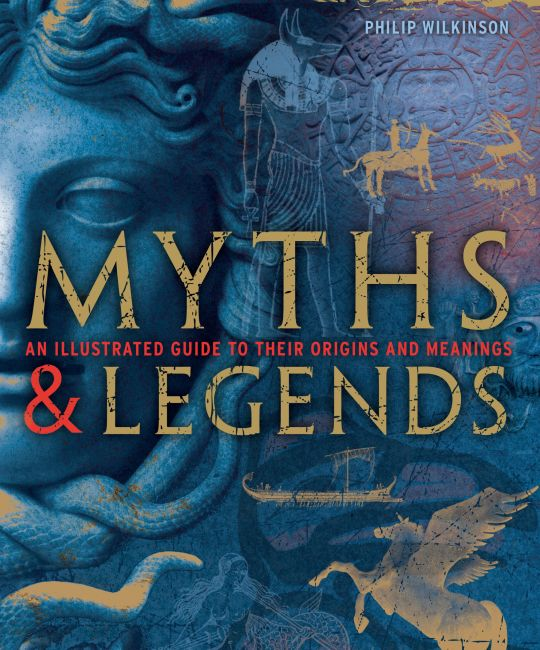 Hardback cover of Myths and Legends