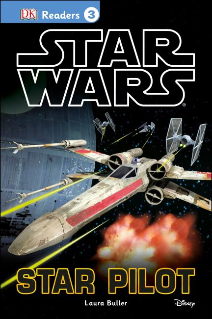 Hardback cover of DK Readers L3: Star Wars: Star Pilot