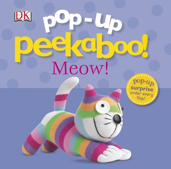 Board book cover of Pop-Up Peekaboo! Meow!