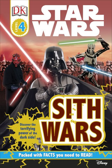 Hardback cover of Star Wars Sith Wars