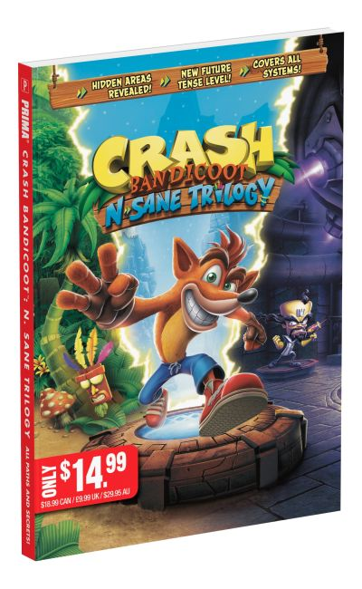Paperback cover of Crash Bandicoot N. Sane Trilogy