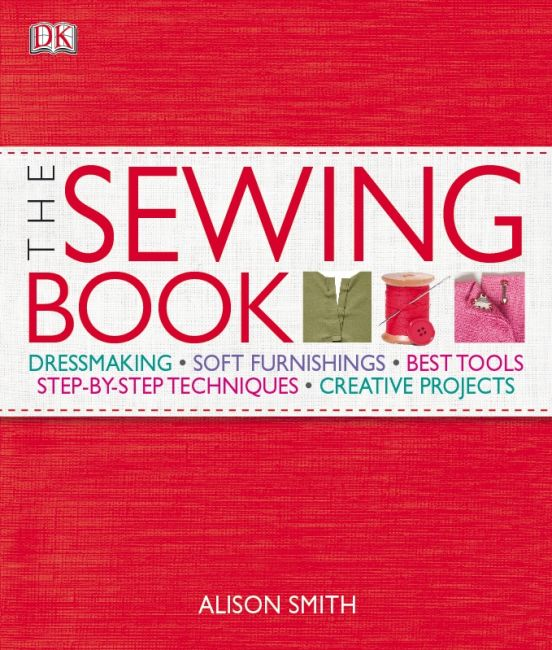 Hardback cover of The Sewing Book