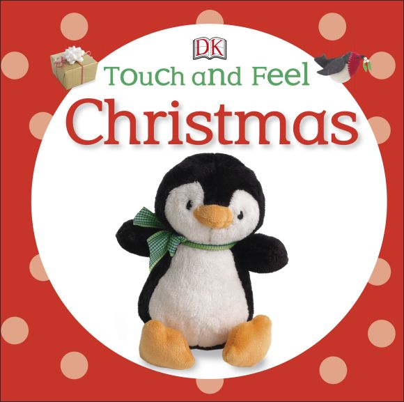 Board book cover of Touch and Feel Christmas