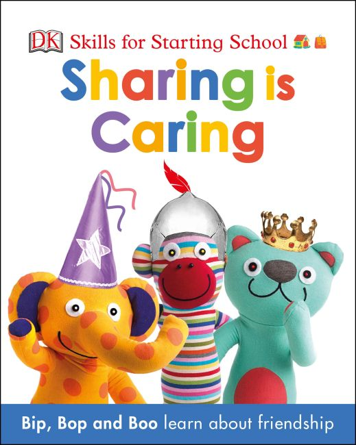Board book cover of Sharing is Caring