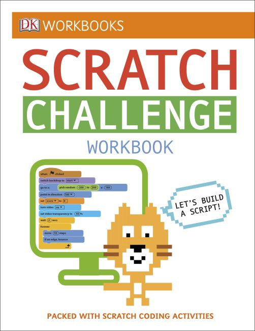 Paperback cover of DK Workbooks: Scratch Challenge Workbook