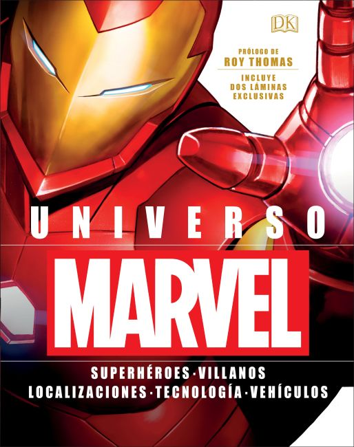 Hardback cover of Universo Marvel