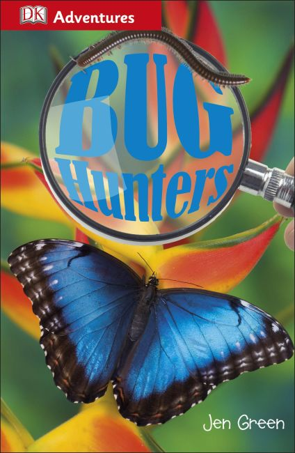 Paperback cover of DK Adventures: Bug Hunters