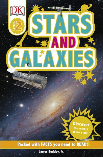 Paperback cover of DK Readers L2: Stars and Galaxies
