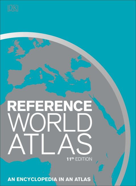 Hardback cover of Reference World Atlas
