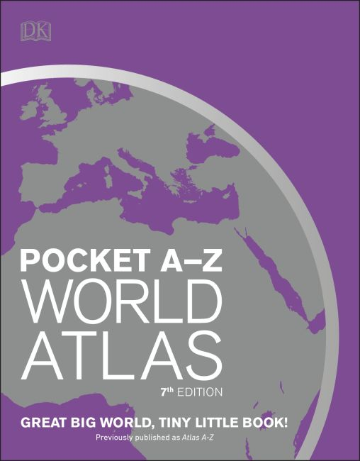 Paperback cover of Pocket A-Z World Atlas, 7th Edition